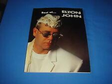 PARTITION TABLATURES ELTON JOHN BEST OF... I.D. MUSIC 1996 EMF GUITARE PIANO