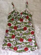 Fashion Floral V-Neck Spaghetti Strap Multicolour Cotton Lingerie sleepwear XL