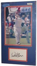 Cricket Signed Cards B Certified Original Sports Autographs