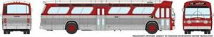HO 1:87 Rapido # 703027 - 60s-86 GM New Look-Fishbowl Bus - Denver Tramways 8109