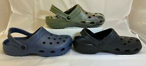 Adult Clogs Mules Sandal Garden Hospital Nursing Chef Beach Shoes Size 9-12