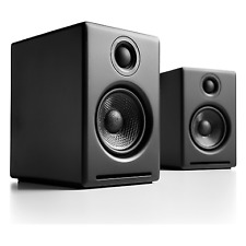 NEW Audioengine A2+ Powered Wireless Desktop Speakers - Satin Black A2+BT-BLK