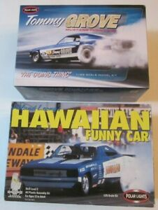Polar Lights Tommy Grove Going Thing Mustang & Charger Funny Car Lot 2 Kits UB