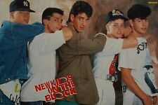 NEW KIDS ON THE BLOCK - A3 Poster (ca. 42 x 28 cm) - Clippings Fan Sammlung NEU