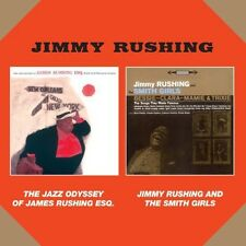 Jimmy Rushing - Jazz Odyssey of James Rushing Esq + Jinny Rushing [New CD] Spain