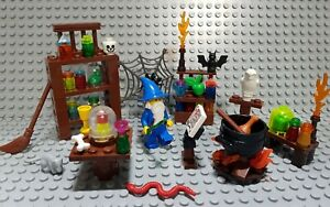 Lego figur Ritter castle magier Küche Wizard moc hexenküche magierhöhle potter
