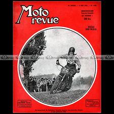 MOTO REVUE N°1083 NSU 250 GUILLER EILENRIEDE BRASSINE MOBYLETTE PEUGEOT DKW 1952