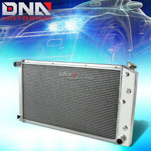 FOR 1977-1989 CHEVY/GMC C10/C20/SUBURBAN 3-ROW FULL ALUMINUM COOLING RADIATOR