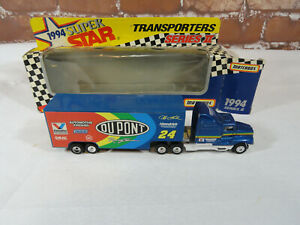 Matchbox Super Star Transporters Series *TRACTOR TRAILER* Dupont Jeff Gordon #24