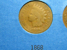 1868 Indian Head Cent                                                     (23rd)