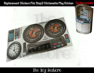 The Toy Restore Replacement Stickers Fits Step2 Vintage Kitchenette Play Kitchen