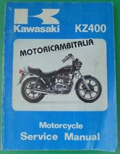 KAWASAKI Z400 Z 400 KZ LTD  MANUALE OFFICINA  MANUAL SHOP SERVICE REPAIR BOOK