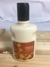 Bath & Body Works SENSUAL AMBER Body Lotion 8 fl Oz Pleasures Line New