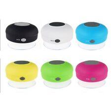 Bianco Subwoofer Wireless Bluetooth Impermeabile Doccia Altoparlante Mic Cup K10