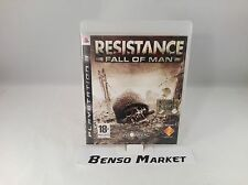 RESISTANCE 1 FALL OF MAN SONY PS3 PLAYSTATION 3 PAL ITALIANO COMPLETO COME NUOVO
