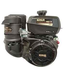 """CH440-3115 Kohler 14HP Command PRO Recoil Start 1"""" Shaft Engine Horizontal"""
