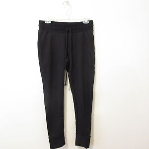 NWT $48 COMFY All Seasons BLACK Stretchy SWEAT Pants FREE PEOPLE Size M