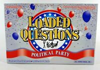 Loaded Questions game Political Party Ages Teen-Adult New Made in U.S.A.