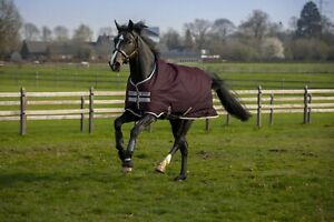 Horseware Amigo Hero Ripstop 50g Regendecke -  Fig/Silver