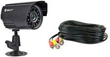 Sunluxy 600TVL IP66 Seguridad CCTV Cámara y 18M Power: Cable de vídeo