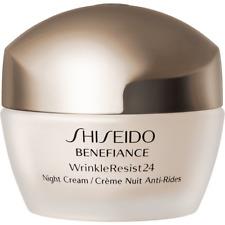 New Shiseido Benefiance WrinkleResist24 Night Cream 1.7 oz/50ml ~ Sealed Jar