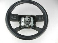 Leather Wrapped Steering Wheel with Radio Controls Chevrolet Cobalt SS 05 06