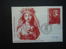 France 2003 Souvenir Card Elisabeth Vigee Lebrun Used