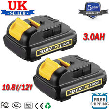 2x 3.0AH For Dewalt 10.8V XR Li-ion Slide Battery DCB120 DCB121 DCB125 DCB127 UK