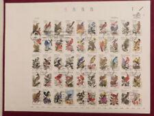 SCOTT # 1953-2002 STATE BIRDS & FLOWERS FULL SHEE 1st DAY COVER