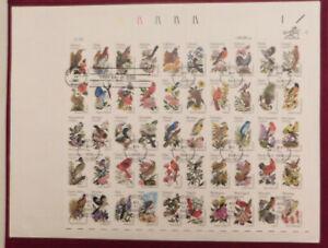 SCOTT # 1953-2002 STATE BIRDS & FLOWERS FULL SHEET 1st DAY COVER