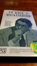 TO KILL A MOCKINGBIRD BIRD - GREGORY PECK - 1962 B/W VHS  VIDEO