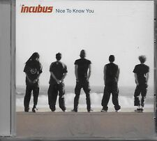 INCUBUS  Nice To Know You  promo CD single with PicCover