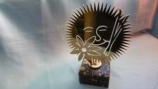 trophée JO albertville 1992 tete soleil bronze