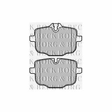Fits BMW 5 Series F11 520d Variant1 Genuine Borg & Beck Rear Brake Pads Set