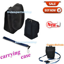 CONTEC Soft Black Case For Fingertip Pulse Oximeter,free rope,lanyard