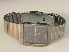 RADO 129.0266.3 DIASTAR GOLD MEN'S VINTAGE WATCH Date Swiss Made Working