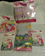 My-Little-Pony- Party-Set-Banner-Decorati ons-Invitations Thank-You-Table cover!