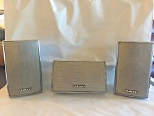 Samsung PSSA600E PSCA600E 3-Speaker Sound System Center Left and Right Front