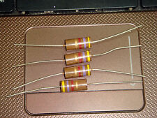 4 X MADE IN JAPAN RIKEN OHM RM2 470R 470 OHM 5% 2W AUDIO GRADE CARBON RESISTOR