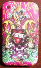 """Love Kills Lowi"" in Silicone Gel Custodia Cover per iPhone 3/3g/3gs telefoni cellulari #S2"