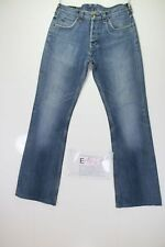 Lee Denver Bootcut Cod. E1643 Tg45 W31 L34 jeans verkürzt gebraucht Pfote retro