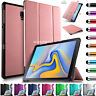 """Leather Magnetic Case Cover For Samsung Galaxy Tab A 10.5"""" Inch SM-T590 SM-T595"""