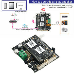 WiFi Wireless Audio Preamp Receiver Board 2 in 1 für Up 2 Stream Q1 Mini