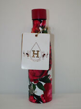 Heritage Stainless Stl. Floral Print Double Wall Insulated 17oz Water Bottle NWT