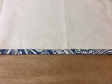 "(William Morris Style) Hathaway Indigo  25mm/ 1"" Bias Binding By The Metre"