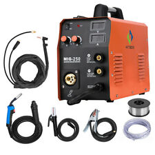 HITBOX MMA Lift TIG MIG Welding Machine Gas Gasless MIG250 Welder With TIG Torch