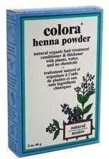 Colora Henna Powder Hair Color Natural, 2 oz (Pack of 2)
