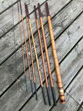Canne à pèche bambou japon japan Hardy Vintage bamboo fishing mouche saumon