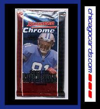 2007 Bowman Chrome Football HOBBY Pack (Adrian Peterson Calvin Johnson RC Auto)?