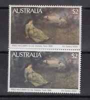 Australia QEII 1981 $2 Painting x 2 Mint MNH X9443
